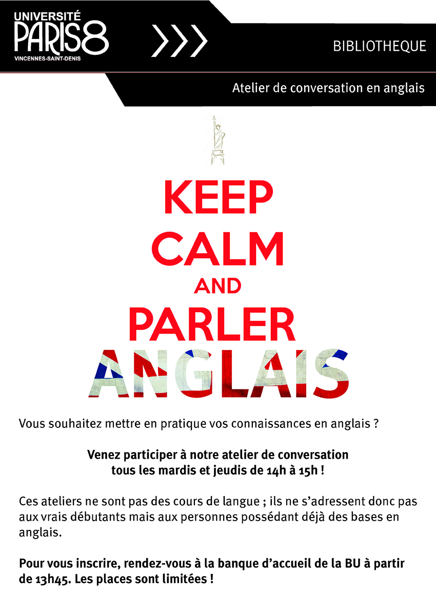 Rencontre conversation en anglais paris