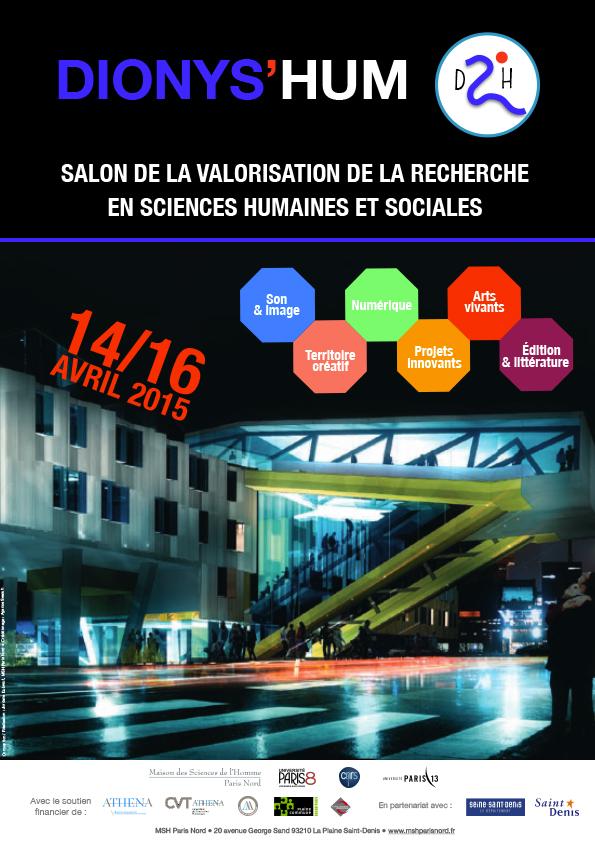 Salon de la valorisation de la recherche en sciences for Salon de la photo paris