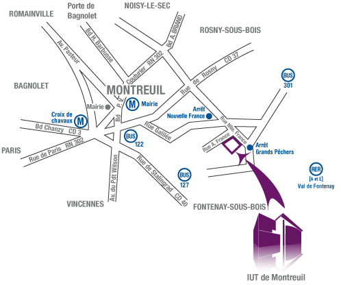 L Iut De Montreuil Universit 233 Paris 8